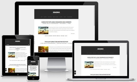 Zenzero Blogger Template | Blogger themes | Scoop.it
