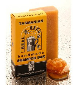 Honey and Beer Natural Hair Shampoo Soap Bar with Tasmanian Leatherwood Honey   Beauty and the Bees Tasmania   Scoop.it