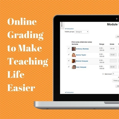 Online Grading to Make Teaching Life Easier with Moodle | Historia e Tecnologia | Scoop.it
