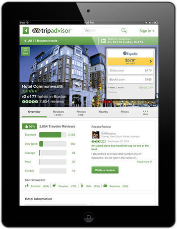 TripAdvisor users 3x more likely to have other travel mobile apps: report | digitalNow | Scoop.it
