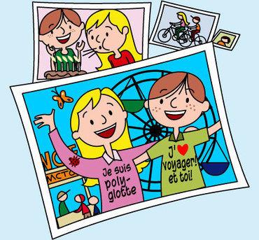Les jeunes nomades vous accompagnent en vacances | FLE enfants | Scoop.it