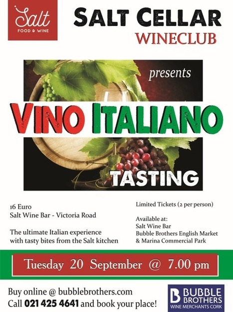 Tickets for our next wine tasting on sale now | Food | Scoop.it