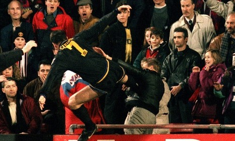 United fans' proposed tribute to Cantona slammed by Palace fans   PSG   Scoop.it