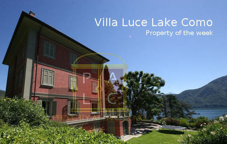 Luxury Italian Property of the Week: Villa Luce Lake Como - Real Estate Services Lake Como   Villa for Sale Lake Como   Scoop.it