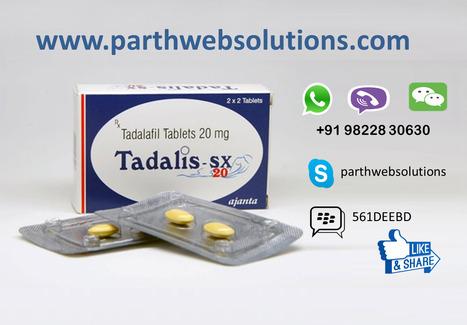 Tadalis SX (Tadalafil) | Pharmacy Dropshipping | Scoop.it