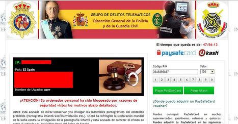 """La justicia española condena a 6 años de cárcel al creador del """"virus de la policía""""   Informática Forense   Scoop.it"""