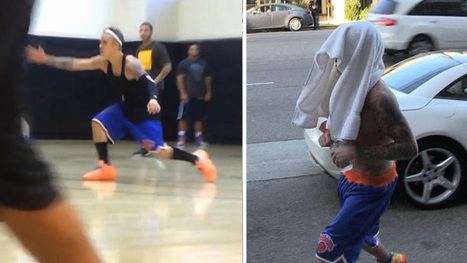 Justin Bieber Playing Basketball -- Shirts or Skins ... Still A Baller! [VIDEO] - TMZ.com | Basketball Dreams | Scoop.it