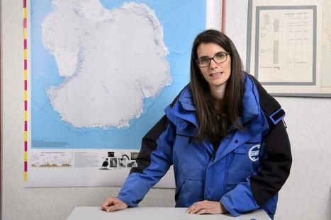 Changement climatique : Anaïs Orsi fait parler les gaz prisonniers des glaces   Université Paris Saclay   GREENEYES   Université Paris-Saclay : revue de presse   Scoop.it