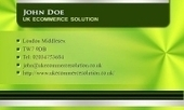 Business card template Noble | Cheap Business Cards | UK Ecommerce Software Solutions | Online Shopping cart | Scoop.it