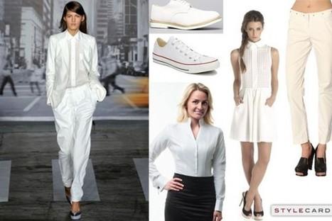 Trends: Bright White   StyleCard Fashion Portal   StyleCard Fashion   Scoop.it