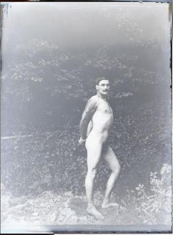 Mustached Vintage Nude   Sex History   Scoop.it