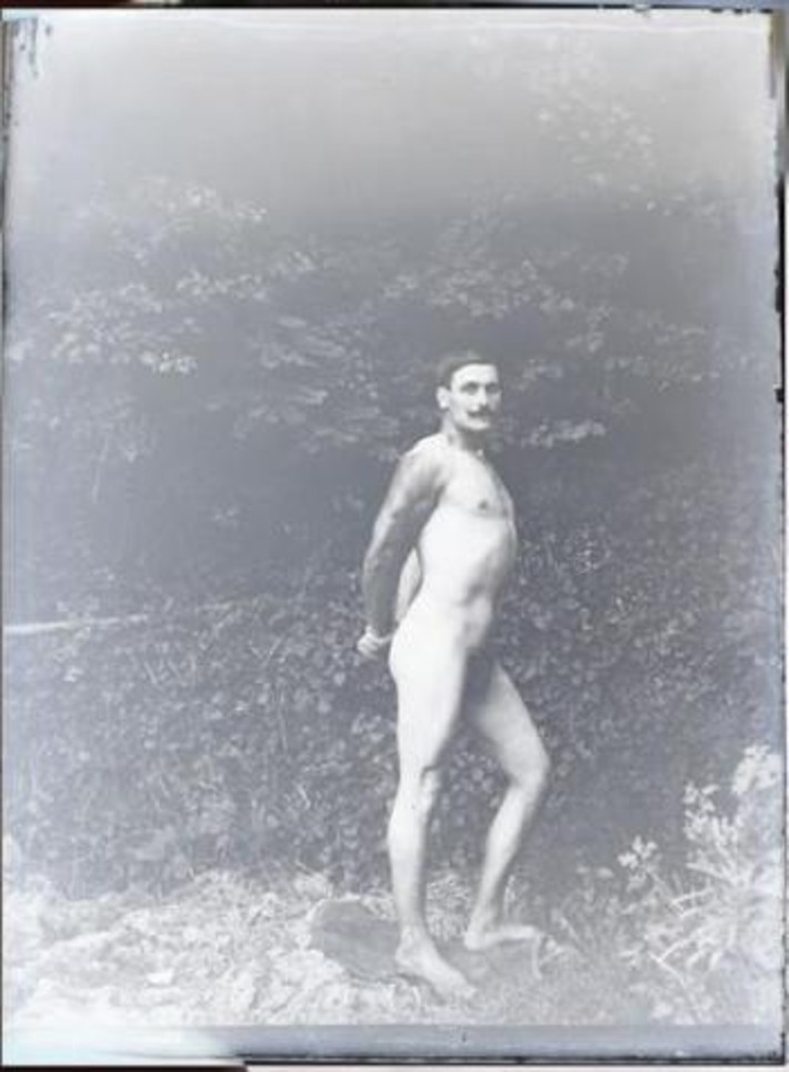 Mustached Vintage Nude | Sex History | Scoop.it