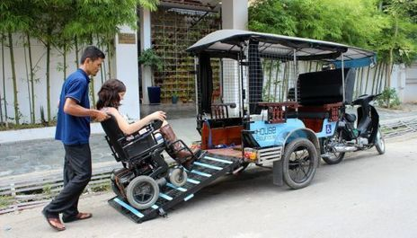 Wheelchair accessible tuk-tuk debuts | Accessible Travel | Scoop.it