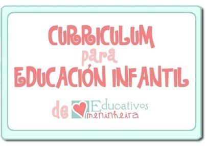 Educativos meninheira: Blog: CURRÍCULUM PARA EDUCACIÓN INFANTIL | MATEmatikaSI | Scoop.it