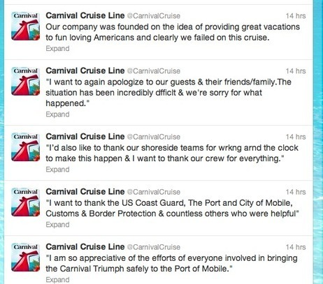 What You Can Learn From Carnival Cruise Crisis Communications | Melissa Agnes | PR examples | Scoop.it