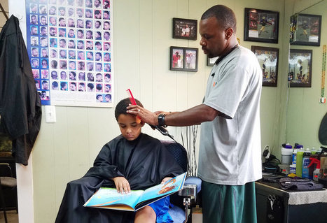 Choose A Book And Read To Your Barber, He'll Take A Little Money Off The Top | Opvoeden tot geluk | Scoop.it