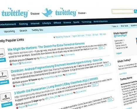 20 outils de veille basés sur twitter | Veille informative | Scoop.it