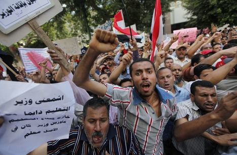 5 000 enseignants manifestent au Caire | Égypt-actus | Scoop.it