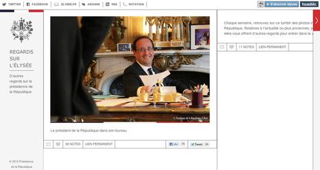 Un Tumblr élyséen, est-ce suffisant ? | hugovanmalle.fr | Web en politique | Scoop.it