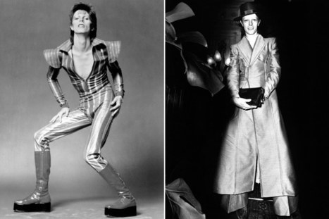 How David Bowie's Ceaseless Re-invention Changed Fashion | History in Pictures | Scoop.it