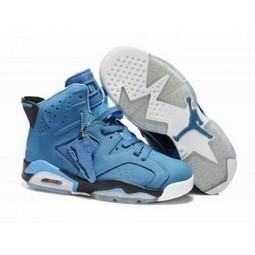 Air Jordan 6 Retro Blue Black White Shoes For Sale | Nike Lebron 10 | Scoop.it