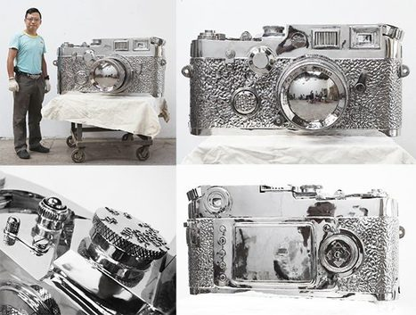 Giant Stainless Steel Leica Weighs 770lb | Everything Photographic | Scoop.it