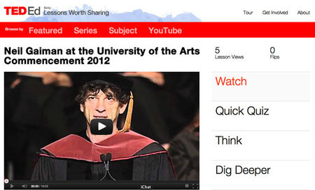 TED Blog | Commencement 2012, flipped: Lessons from great grad addresses | SCUP Links Magazine: The inbox for SCUP's weekly environmental scanning | Scoop.it