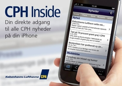 Copenhagen Airports mobile intranet | Mobile intranet examples | Scoop.it