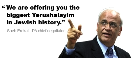 """The biggest Yerushalayim"" - The Palestine Papers - Al Jazeera English | Coveting Freedom | Scoop.it"