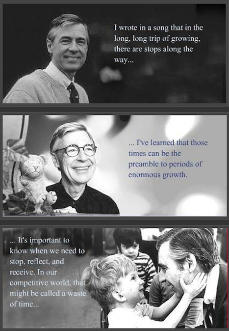 Keeping Up with the Neighborhood: Knowledge from Fred Rogers | Literacy, Education and Common Core Standards in School and at Home | Scoop.it