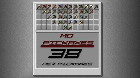 More Pickaxes Mod 1.7.2   Minecraft Mod 1.7.2   Scoop.it