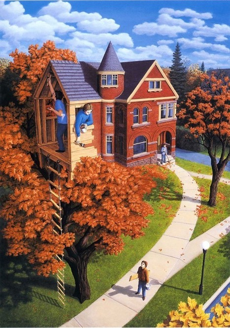What Is Real and What is Magic? Masterful Illusions Painted by Robert Gonsalves | The brain and illusions | Scoop.it
