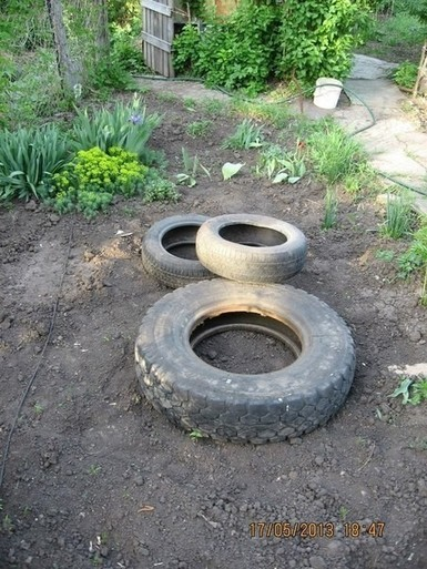 Burying A Tire Is Actually A Great Idea If You're Creating This Cool DIY Project | IELTS, ESP, EAP and CALL | Scoop.it