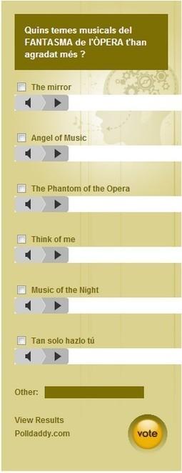 Hem treballat el Musical del FANTASMA DE L'ÒPERA  a 6è | Recursos interessants | Scoop.it