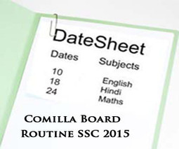 Comilla Board SSC Exams Routine 2015 Science & Arts | Education for Bangladeshi Student | Scoop.it