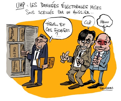 Les données électorales de l'UMP mises sous scéllés | Baie d'humour | Scoop.it