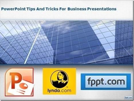 PowerPoint Tips And Tricks for Business Presentations Training Course | PowerPoint Presentation | Business Today | Scoop.it
