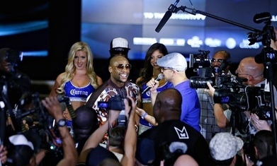 Floyd Mayweather announces Marcos Maidana rematch in September | Boxing | Scoop.it