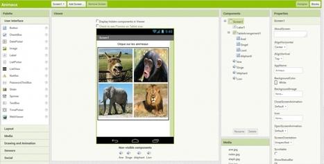Le jeu des animaux tuto AppInventor | La Technologie au Collège Joachim du Bellay | La technologie au collège | Scoop.it