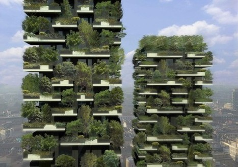 A 27-Story Vertical Forest Grows in Milan | Object Lessons | ARTINFO.com | Vertical Farm - Food Factory | Scoop.it