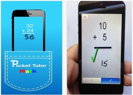 Augmented Reality to Learn Math - Pocket Tutor for iOS | | Augmented Reality in Education | Scoop.it