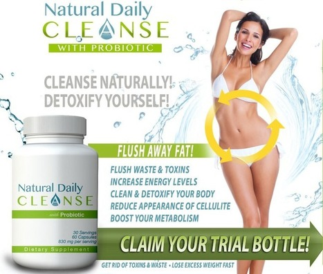 Natural Daily Cleanse Review - The Secret To A Healthy And Fit Body!   help you clean colon   Scoop.it
