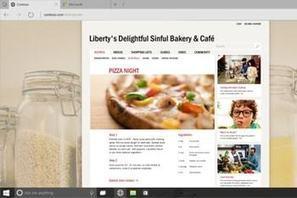 Microsoft Edge : le navigateur de Windows10 en détails | Web Increase | Scoop.it