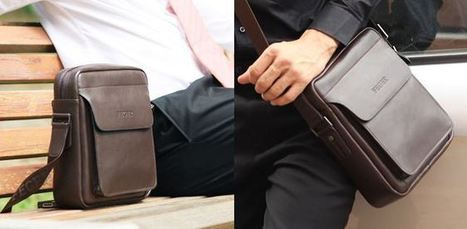 Dark brown tanned leather shoulder bag with shoulder strap | Apple iPhone and iPad news | Scoop.it
