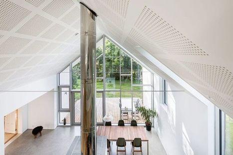 Extension bois et éco-construction pour une maison unifamiliale en Norvège | Construire Tendance | Dans l'actu | Doc' ESTP | Scoop.it