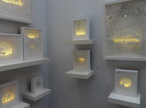 Gorgeous Papercut Light Boxes by Hari & Deepti | Paper Art | Scoop.it