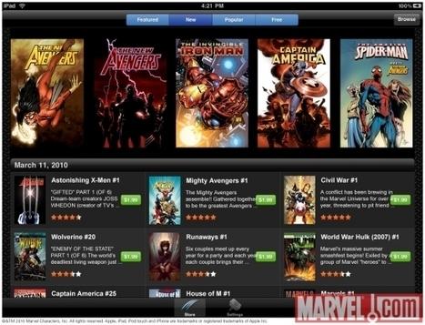 Marvel lanza su aplicación para iPad/iPhone | Zona Negativa | gamer | Scoop.it