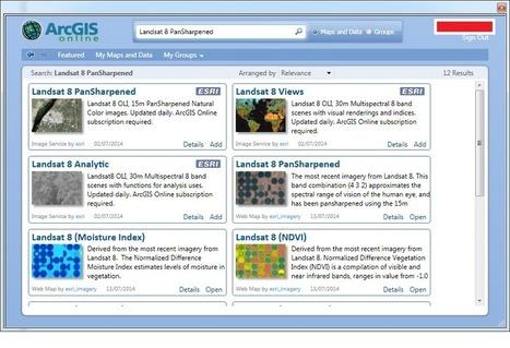LINK FLORESTAL - FOREST GIS : Landsat 8 no seu ArcGIS Desktop   ArcGIS-Brasil   Scoop.it