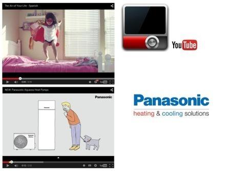 Panasonic dispone de 2 canales Youtube con interesantes videos y material informativo de gran utilidad | PANASONIC | Scoop.it