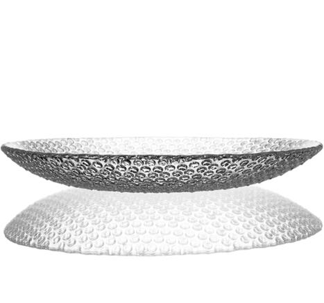 Bubbles Large Crystal Plate, 34cm | Decor Trends | Scoop.it